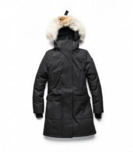 Черная Женская парка (куртка) NOBIS MERIDETH