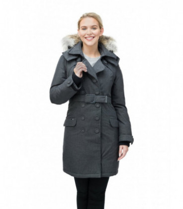 Серая Женская Парка (куртка) NOBIS TULA