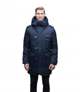 Черная Мужская Парка (куртка) NOBIS SHELBY