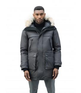 Серая Мужская Парка (куртка) NOBIS YATESY